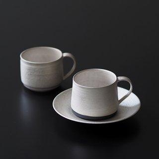 銀彩 マグカップ (平底)