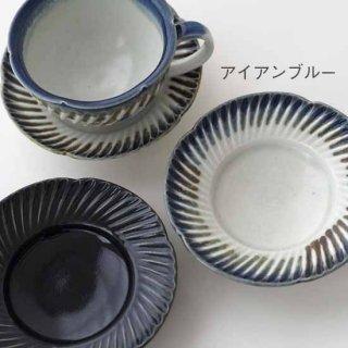 ひねり輪花 4寸皿
