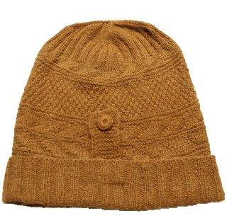 アルパカ100%ナチュラル帽子GBN BRA