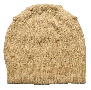 アルパカ100%ナチュラル帽子GPN