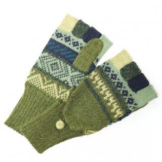 アルパカ ミトン手袋GU AU972C