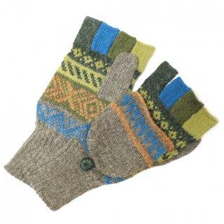 アルパカ ミトン手袋GU AU8430B