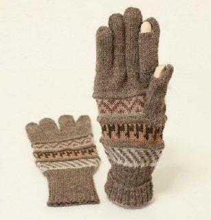 アルパカ100%手袋GU5 FS211