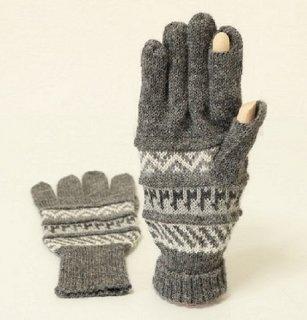 アルパカ100%手袋GU5 FS402