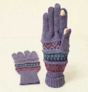 アルパカ100%手袋GU5 FS835