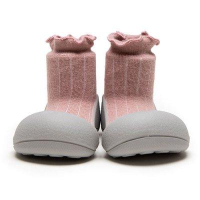 ベビーシューズ PomPom Pink