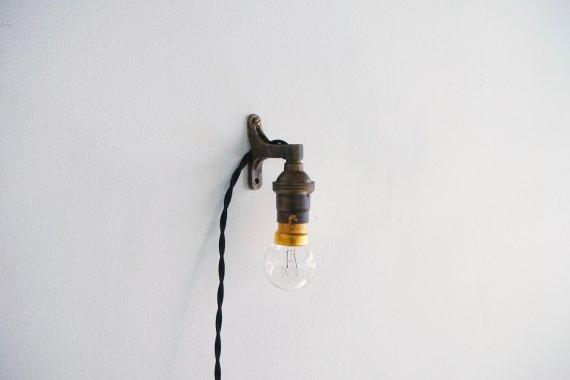 BRASS LAMP-D