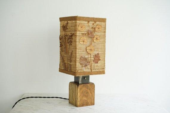 DRY FLOWER LAMP