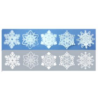 美濃和紙「カミノシゴト」 SNOWFLAKE(SSサイズ)  Gifu