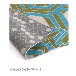 風呂敷 アタラシキイニシエ kikkou(ライトグリーン)箱入り