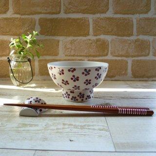 砥部焼 すこし屋 -SUKOSHIYA-  くらわんか茶碗 (赤小紋)