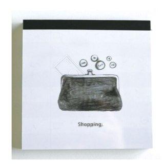 メモパッド/watashi lassic Shopping 【日本製】