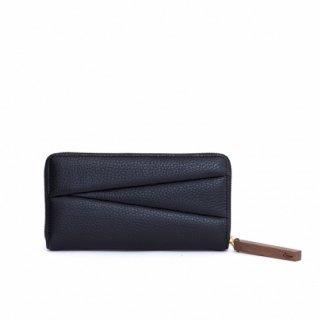 wood long wallet