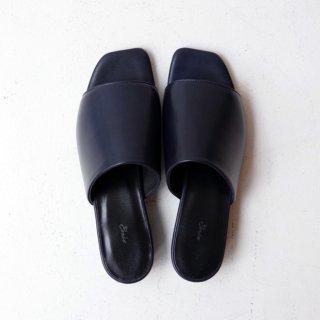 Ense × DELMONACO sandal -navy-
