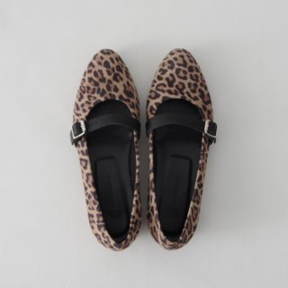 DELMONACO belt pumps -leopard-