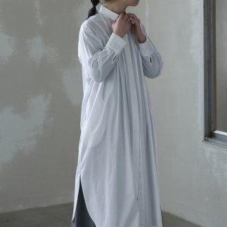 hiyoku long shirt one-pice  - white -