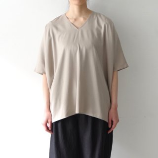 over blouse - greige -
