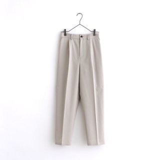 cotton pants -beige-