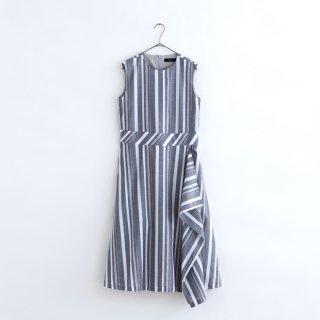 播州織 sleeveless dress