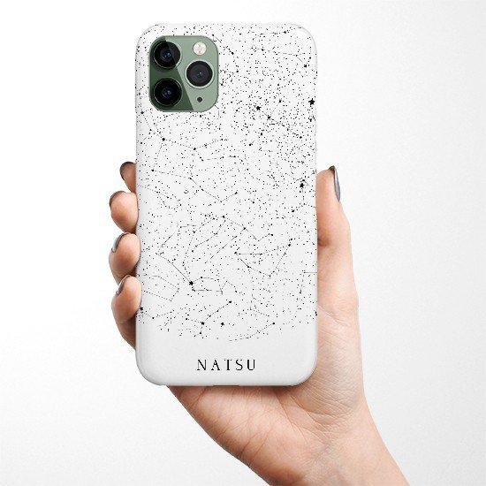 名前入り 星空 あの日の星空再現します iphoneカバー GALAXYカバー