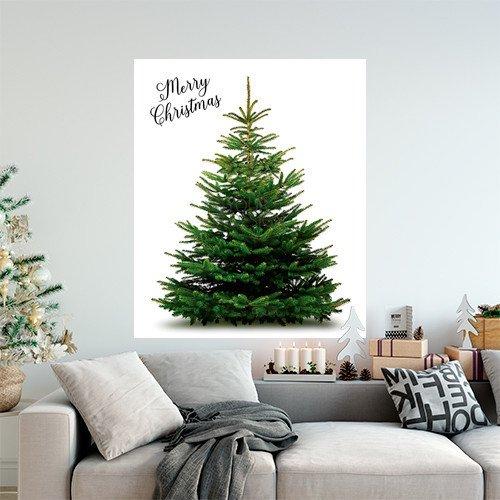 クリスマスタペストリー もみの木
