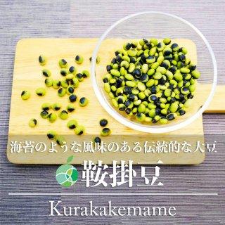 【送料無料】鞍掛豆・くらかけ豆(豆)2020年度産 約400g 長野県小海町産