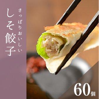 しそ餃子(60個)