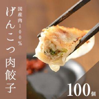 げんこつ肉餃子(100個)