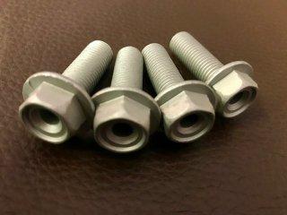 ジュラルミン削り出しステー用ジオメットコート加工 取付けボルト4個セット 30mm