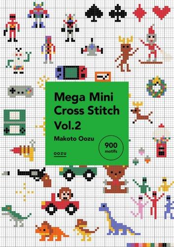 <img class='new_mark_img1' src='https://img.shop-pro.jp/img/new/icons5.gif' style='border:none;display:inline;margin:0px;padding:0px;width:auto;' />【PDFデータ販売・商用利用OK・900点収録・27P】Mega Mini Cross Stitch Vol.2