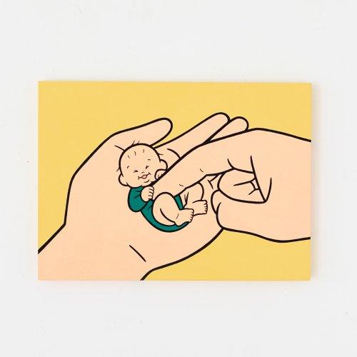 【9/7(火)20時販売開始】おおのたろう  原画 M4 「手のり赤ちゃんD」