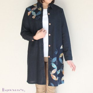 【50%OFF】 和柄木綿ロングジャケット