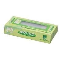 ジャパックス SS-02 マチ付保存パック 55枚BOX 半透明 55枚入り×50冊【2,750枚】