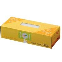 ジャパックス SS52 BOX保存袋(M)エンボス加工 (220枚) 半透明 220枚入り×21冊【4,620枚】