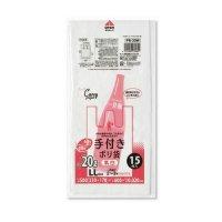 ジャパックス PR30W レジ袋 白半透明 LLサイズ 【900枚入り】(15枚×60冊)