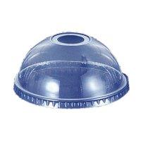 プラカップドーム蓋 14〜20オンス用 穴付き DD-98 【2000個入り】(100個×20)