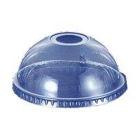 プラカップドーム蓋 12オンス用 穴付き DD-92 【2000個入り】(100個×20)