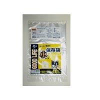 HHJ KF01 保存袋 小 透明 0.015 50枚入り×160冊【8,000枚】