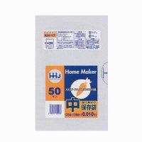 HHJ KH17 保存袋 中 半透明 0.01 50枚入り×100冊【5,000枚】