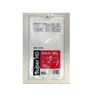 HHJ GH90 ポリ袋 90L 半透明 0.017 【600枚入り】(10枚×60冊)