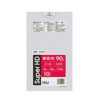 HHJ GH98 ポリ袋 90L 半透明 0.03 【300枚入り】(10枚×30冊)