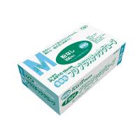 【新規受注停止中】プラスチックグローブ M 粉無 PVC 100枚入り×20箱【2,000枚】