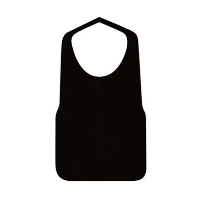 不織布エプロンF型 中 黒 25枚入り×40袋【1,000枚】が安い! 業務用品の大量購入なら激安通販びひん.shop。【法人なら掛け払い可能】【最短翌日お届け】【大口発注値引き致します】