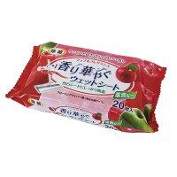 LD-026 香り華やぐウェットシート アップル 20枚 【30袋入り】