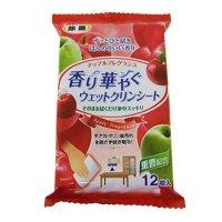 LD-029 香り華やぐウェットクリンシート アップル 12枚 【30袋入り】