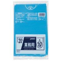 ジャパックス TM21 業務用ポリ袋20L 青0.025 LL+meta 10枚入り×60冊【600枚】