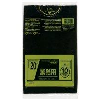 ジャパックス TM22 業務用ポリ袋20L 黒0.025 LL+meta 10枚入り×60冊【600枚】