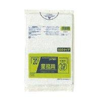 ジャパックス TM29 業務用ポリ袋20L 半透明0.02 LL+meta 10枚入り×60冊【600枚】