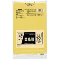 ジャパックス CY46 業務用ポリ袋45L 黄色 0.04 LLDPE 10枚入り×40冊【400枚】