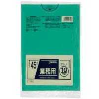 ジャパックス CCG45 カラーポリ袋45Lグリーン (10枚) 0.03 LLDPE 10枚入り×60冊【600枚】